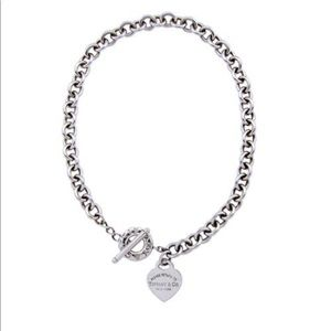 Tiffany & co Authentic heart necklace